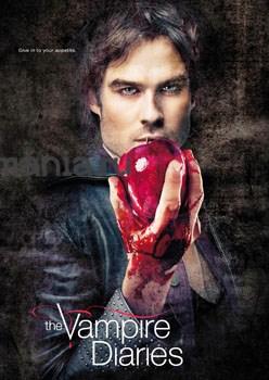 Постер Дэймон Сальваторе (Дневники Вампира) - фото 5529