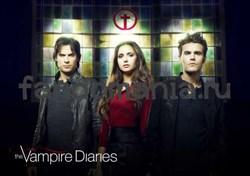 Постер Дневники Вампира - фото 5530