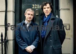 Постер Шерлок и Джон - фото 5531