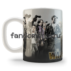 "Кружка  ""The Walking Dead""  (Ходячие мертвецы) - фото 5558"