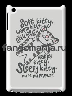 """Чехол для iPad """"Soft Kitty"""" (Теория Большого Взрыва) - фото 5650"""