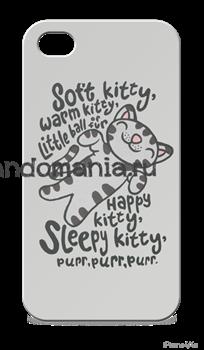 "Чехол для мобильного телефона ""Soft Kitty"" (Теория Большого Взрыва) - фото 5651"
