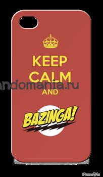 """Чехол для мобильного телефона """"Bazinga"""" (Теория большого взрыва) - фото 5833"""