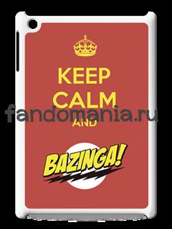 """Чехол для iPad """"Bazinga"""" (Теория большого взрыва) - фото 5837"""