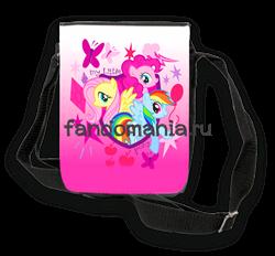 """Сумка  с клапаном """"My Little Pony"""" - фото 5931"""