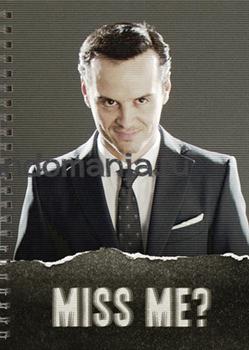 """Блокнот """"Miss me?"""" (Шерлок) - фото 6035"""