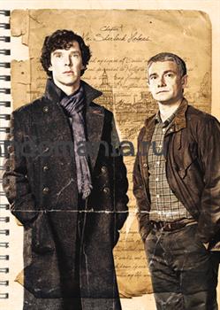 """Блокнот """"Шерлок и Джон"""" - фото 6036"""