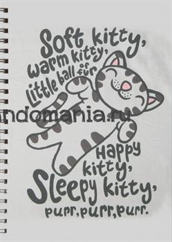 """Блокнот """"Soft kitty"""" (Теория большого взрыва) - фото 6055"""