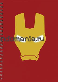 "Блокнот ""Железный человек"" Marvel - фото 6070"