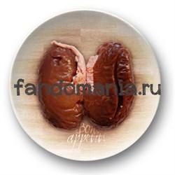 """Тарелка """"Bon appetit... Почки"""" (Ганнибал) - фото 6074"""