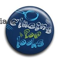 """Значок """"Clueing for looks"""" (Шерлок) - фото 6087"""