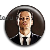 "Значок ""Jim Moriarty"" (Шерлок) - фото 6092"