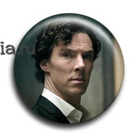 "Значок ""Sherlock.The Empty Hearse"" - фото 6100"