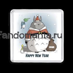 """Магнит """"Тоторо. Happy New Year"""" - фото 6163"""