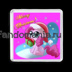 """Магнит """"My Little Pony. Merry Christmas"""" - фото 6166"""