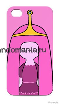 "Чехол для мобильного телефона ""Принцесса Бубльгум"" (Время приключений) - фото 6184"