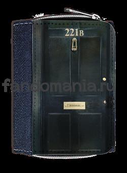 "Кошелек ""221 B"" (Шерлок) - фото 6202"
