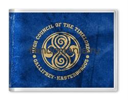 """Обложка на студенческий билет """"Gallifrey Kasterborous"""" (Доктор Кто) - фото 6252"""