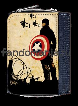 "Кошелек ""Капитан Америка"" - фото 6316"