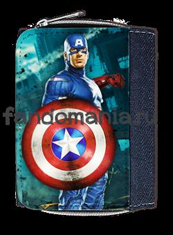 "Кошелек ""Капитан Америка"" - фото 6320"