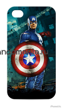 "Чехол для телефона ""Капитан Америка"" - фото 6324"