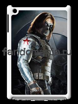 """Чехол для iPad """"Зимний солдат"""" (Капитан Америка) - фото 6328"""