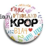 """Значок """"K-Pop"""" - фото 6427"""