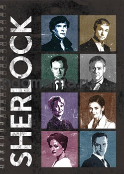 """Блокнот """"Шерлок. Персонажи."""" - фото 6473"""