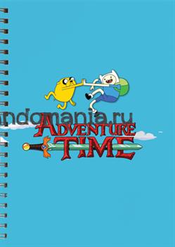 """Блокнот """"Adventure Time"""" - фото 6568"""