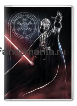 """Обложка на паспорт """"Дарт Вейдер"""" (Звездные войны) - фото 6634"""