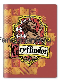 "Обложка на паспорт виниловая ""Гриффиндор"" (Гарри Поттер) - фото 6721"
