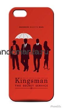 """Чехол для мобильного телефона """"Kingsman: The Secret Service"""" - фото 6802"""