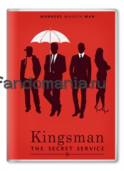 """Обложка на паспорт """"Kingsman: Секретная служба"""" - фото 6809"""