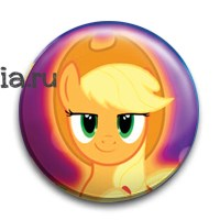 "Значок ""Эпплджек"" (My Little Pony) - фото 6817"