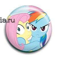 """Значок """"Дружба это чудо"""" (My Little Pony) - фото 6822"""