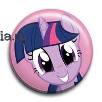 """Значок """"Сумеречная Искорка"""" (My Little Pony) - фото 6823"""