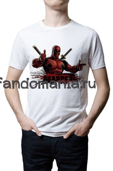"""Футболка """"Deadpool"""" - фото 6863"""