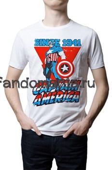 "Футболка ""Капитан Америка. 1941"" - фото 6875"