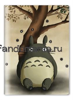"Обложка на паспорт виниловая ""Тоторо"" (Мой сосед Тоторо. Хаяо Миядзаки) - фото 6956"