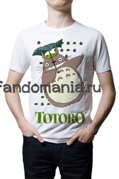 "Футболка ""Тоторо"" (Мой сосед Тоторо. Хаяо Миядзаки) - фото 6959"