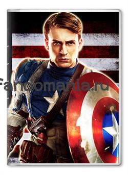 "Обложка на паспорт ""Капитан Америка"" - фото 7021"