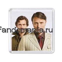 """Магнит """"Ганнибал и Уилл. Третий сезон"""" - фото 7060"""