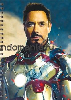"""Блокнот """"Тони Старк"""" (Железный человек) Marvel - фото 7075"""