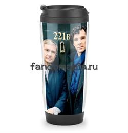 """Термостакан """"Шерлок и Джон"""" - фото 7189"""