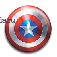 """Значок """"Капитан Америка"""" - фото 7248"""