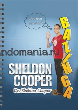 "Блокнот ""Доктор Шелдон Купер"" (Теория большого взрыва) - фото 7312"