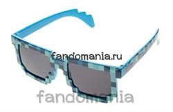 Очки Крипера синие (Майнкрафт) - фото 7326