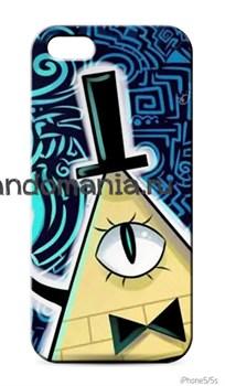 """Чехол для мобильного телефона """"Билл"""" Синий (Гравити Фолз) - фото 7378"""