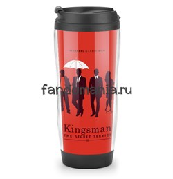 """Термостакан """"Kingsman"""" Красный (Кингсман) - фото 7386"""