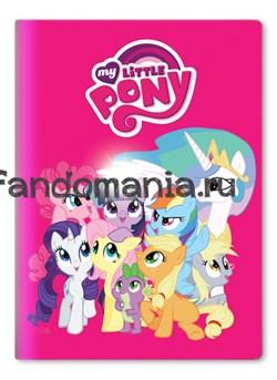"Обложка на паспорт виниловая ""My little pony"" - фото 7660"